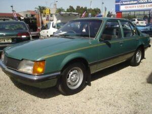1982 Holden Commodore VH SL Green 3 Speed Automatic Sedan