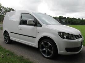 2013 (13) Volkswagen Caddy 1.6TDI ( 75PS ) C20 !!ZERO DEPOSIT FINANCE ARRANGED!!