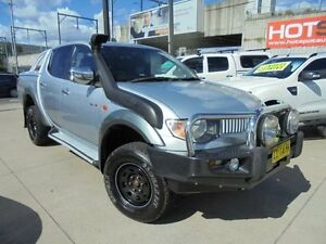 2008 Mitsubishi Triton ML MY08 GLX-R Silver 5 Speed Manual 4D Utility Granville Parramatta Area Preview