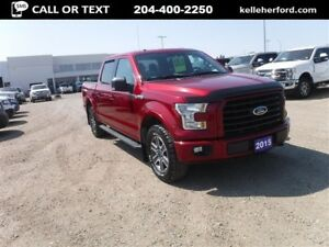 2015 Ford F-150 XLT SUPERCREW SPORT 4X4 5.0L