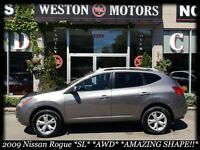 2009 Nissan Rogue SL* AWD* SUNROOF* FULLY LOADED