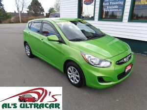 2013 Hyundai Accent GL Manual Shift only $69 bi-weekly all in!