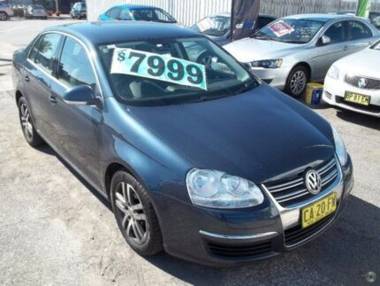 2006 Volkswagen Jetta 1KM MY07 TDI DSG Blue 6 Speed Sports Automatic Dual Clutch Sedan