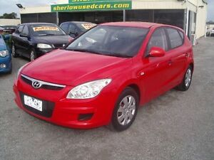 2009 Hyundai i30 FD MY09 SX 1.6 CRDi Red 4 Speed Automatic Hatchback Officer Cardinia Area Preview