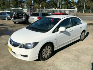 2010 Honda Civic 8th Gen Limited Edition Sedan 4dr Auto 5sp, 1.8i [MY10] White Automatic Sedan Bass Hill Bankstown Area Preview