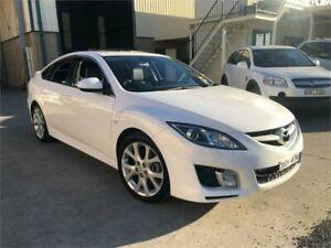 2008 Mazda 6 GH1051 Luxury Sports White Sports Automatic Hatchback Greystanes Parramatta Area Preview