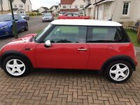 Mini Cooper with Red Chilli Pack