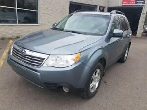 2009 Subaru Forester (Natl) X w/Prem/All-Weather TOIT MAGS