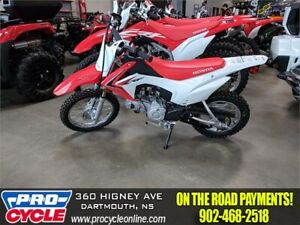 2018 Honda CRF 110F SALE ON NOW!