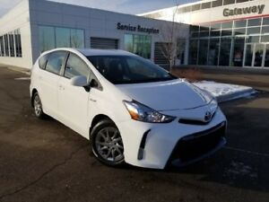 2015 Toyota PRIUS V Hybrid Base Wagon, Backup Cam, Push button S