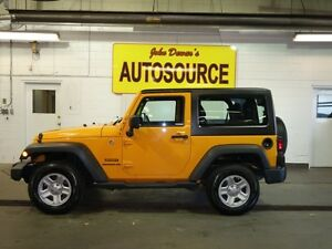 2012 Jeep Wrangler Sport 4WD Peterborough Peterborough Area image 2