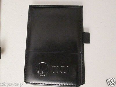 Black Note Pad 3x5 With Pad Of Paper Pen Holder Leeds Txu Jotter Notepad