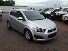 2013 Holden Barina TM MY13 CD Silver 6 Speed Automatic Hatchback Holtze Litchfield Area Preview