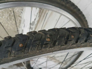 Mavic A119s and Studded Schwalbes