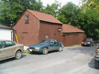 have two storage spaces on wolfe island in big barn