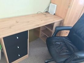 QUALITY DESK AND OFFICE CHAIR