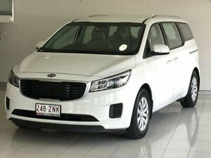 2017 Kia Carnival YP MY18 S White 6 Speed Sports Automatic Wagon Ashmore Gold Coast City Preview