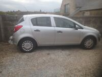 5 Door Silver Corsa 1.2 for Sale.
