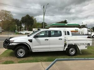 2012 Ford Ranger PX XL 3.2 (4x4) Cool White 6 Speed Manual Dual Cab Chassis Young Young Area Preview
