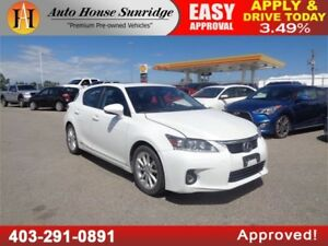 2013 Lexus CT 200h Leather Heated Power Seats Sunroof B.Cam