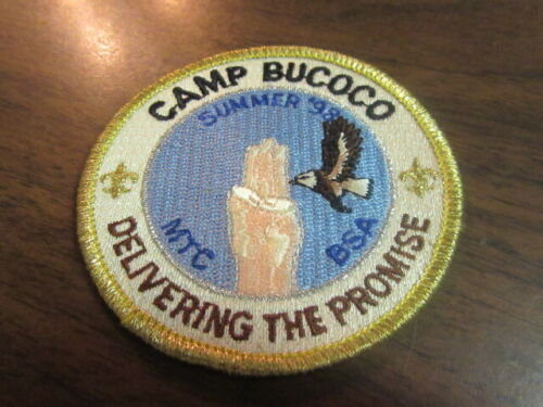 Camp Bucoco Summer 1998 Pocket Patch       c43