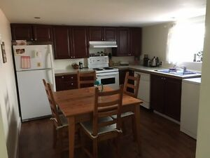 $450 for clean, furnished room in comfortable basement suite