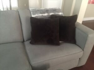 Brown Pottery Barn Decor Pillows