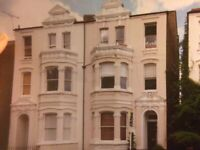 sunny, quite, characterful one bedroom flat with private patio and shared garden