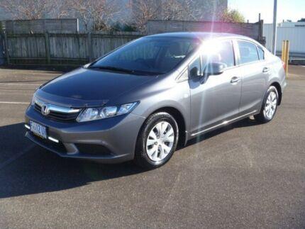 2012 Honda Civic 9TH GEN SER II VTI SEDAN 4DR SA 5SP 1.8I Grey Semi Auto Sedan South Burnie Burnie Area Preview