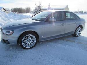 2015 Audi A4 2.0T Quattro S-LINE **LEATHER-TURBO-SUNROOF**
