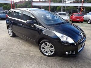 2013 Peugeot 5008 Active 1.6T Black 6 Speed Automatic Wagon Sylvania Sutherland Area Preview