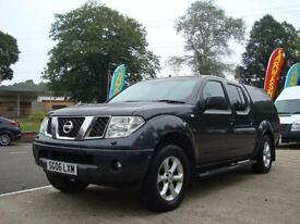 2006 NISSAN NAVARA 2.5 DCI Double Cab Pick Up Outlaw 4WD NO MOT