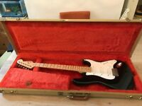 Fender Stratocaster Eric Clapton Blackie 1989 with original tweed hard case