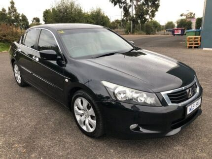 2008 Honda Accord 50 VTi Luxury Black 5 Speed Automatic Sedan Hoppers Crossing Wyndham Area Preview