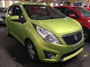 2011 Holden Barina Spark MJ CDX Green 5 Speed Manual Hatchback Georgetown Newcastle Area Preview