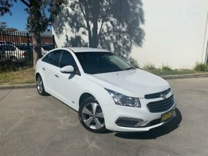 2016 Holden Cruze JH Series II Z-Series Sedan 4dr Spts Auto 6sp 1.8i [MY16] White Sports Automatic