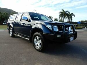 2009 Nissan Navara D40 ST-X Blue 6 Speed Manual Utility Townsville Townsville City Preview