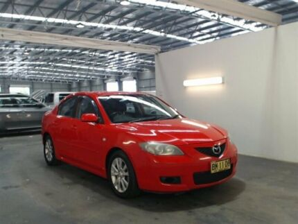 2006 Mazda 3 BK MY06 Upgrade Maxx Sport Red 5 Speed Manual Sedan Beresfield Newcastle Area Preview