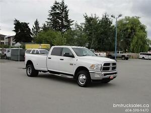 2012 DODGE RAM 3500 SLT CREW CAB LONG BOX 4X4 DUALLY DIESEL