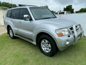 2003 Mitsubishi Pajero NP Exceed Silver 5 Speed Sports Automatic Wagon Clontarf Redcliffe Area Preview