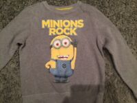 Boys minion jumper from Next age 9 years