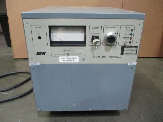 ENI OEM-25A-01M5, Solid State Power Generator, 27-07712-00, OEM-25, 450736