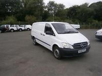 Mercedes-Benz Vito LWB 110 CDI Van DIESEL MANUAL WHITE (2012)