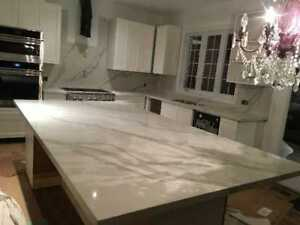 Quartz Counter tops on Sale - FREE Estimate FREE Sink