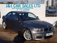 BMW 1 SERIES 2.0 120D M SPORT 2d 175 BHP A LOW PRICE DIESEL (grey) 2010