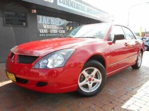 2004 Mitsubishi Magna TL ES Red 4 Speed Auto Sports Mode Sedan Croydon Burwood Area Preview