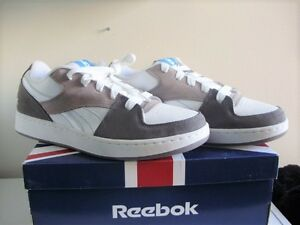 BRAND-NEW-WITH-BOX-REEBOK-CASUAL-WHITE-GREY-CARBON-BLUE-SIZE-11