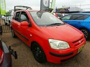 2004 Hyundai Getz TB GL Hatchback 5dr Auto 4sp 1.5i Red Automatic Hatchback Colyton Penrith Area Preview