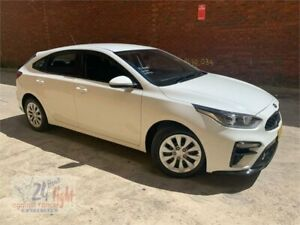 2020 Kia Cerato BD MY20 S White 6 Speed Sports Automatic Hatchback Campbelltown Campbelltown Area Preview