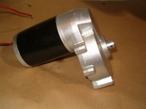 GEAR MOTOR 12 VOLT 150-160 RPM 180 WATT WITH OUTPUT SHAFT